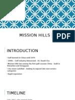 mission hills pp presentation