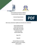 Microscopía y Aislamiento e Identifación de Bacterias de Cavidad Bucal.