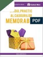 Ghidul Practic Al Cadourilor Memorabile
