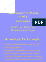 Network Security in Medical Imaging