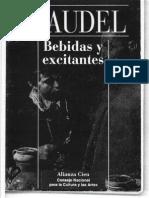 Braudel, Fernand - Bebidas y Excitantes - 1979 - 1994