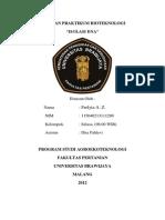Laporan Isolasi DNA PDF