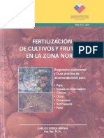Fertilidad Frutales Zona Norte