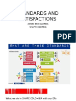 Standards and Satisfactions