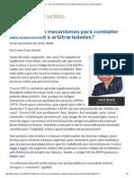 Lenio Streck - CPC Terá Mecanismos Para Combater Decisionismos e Arbitrariedades