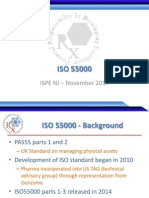 ISO 55000 Presentation - IsPE New Jersey Chapter
