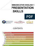 Oral Presentation Skills Scorm King