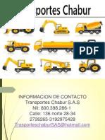 Presentacion Transportes chabur