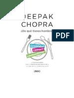 Chopra Deepak - De Que Tienes Hambre.doc