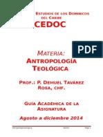 Guía academica de la materia Antropología Teológica.doc