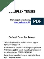 Complex Tenses