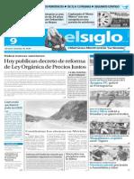 Edicion Impresa Elsiglo 09-11-2015