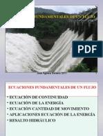 Ecuaciones Fundamentales de Un Flujo