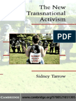 Sidney Tarrow the New Transnational Activism