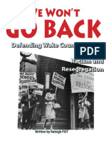 Raleigh FIST Resegregation Report