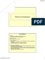Gfye9- Politica de Dividendos