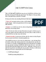 Cài Đặt XAMPP Trên Linux