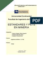 Estandares en Mineria