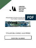 Guia Alumno Centro de las Artes