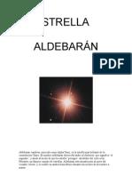 estrella aldebaran