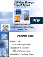 Landfill Gas Energy Project Types Final