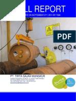 Report of Chlorine Drill 2011