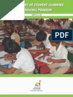 Himachal Pradesh State Assessment - Main Report