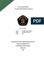 Tugas Kwu Resume III Rivaldi Akbar Pahlevi 135040207111003 Ab