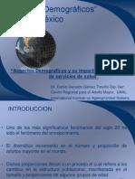 Situacion Demografica en Mexico y Su Impacto en Servicios de Saludon Demografica en Mexico y Su Impacto en Servicios de Salud,5