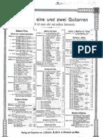 Carulli Serenade Op96 a Dur for Duo Guitar