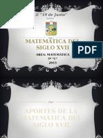 MATEMÁTICA DEL SIGLO XVII.pptx