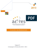 aeres e-valuation institutionnelle
