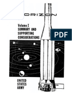 Project Horizon, Volume I, Summary and Supporting Considerations