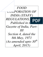 FCI Staff Regulations 30.04.2015
