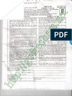 CTET 2015 Question Paper 2 and Answer Key