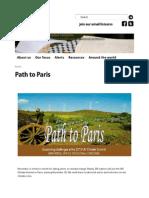 Path to Paris