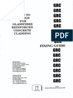 Guide to Fixings for GRC Cladding
