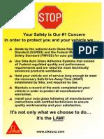 Stop Sign Brochure 2012