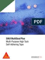 Sika MultiSeal Brochure
