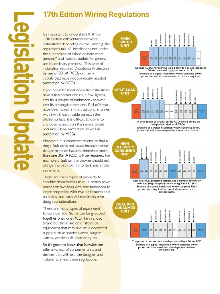 Newlec Rcd Wiring Diagram Wire Data Schema 200 Catalogue Circuit Pdf Fuse Electrical Rh Scribd Com Alternating Current Breaker