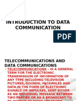 Introduction to Data Communication (Basic Networking)