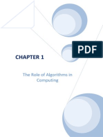 Algorithms Solutions Ch 01