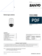 Sanyo Vcc-9300 Sm