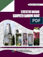 Statistik Daerah Kabupaten Bandung Barat Tahun 2014