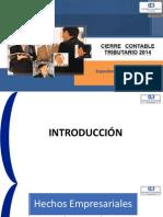 Cierre Contable Tributario 2014 - Cpc. Ramón Chumán Rojas