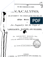 Anacalypsis-higgins Inquiry Into the Origin of Languages Nations and Religions