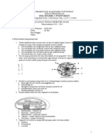 UTS Biologi XI IPA Smt 1 Lengkap