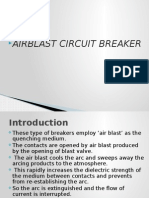 Air Blast Circuit Breaker 1