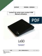 RD MU 09102 10 RDR608 LoGO ManuelUtilisateur