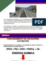 BATERIAS Automotriizes